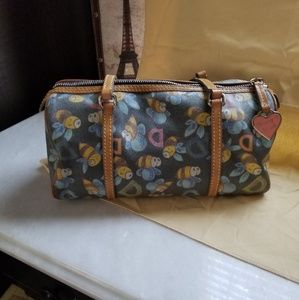 Dooney & Bourke mini D&Bee barrel bag